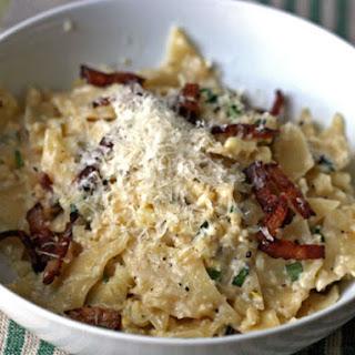 Pasta with Bacon and Corn 'Pesto' Recipe