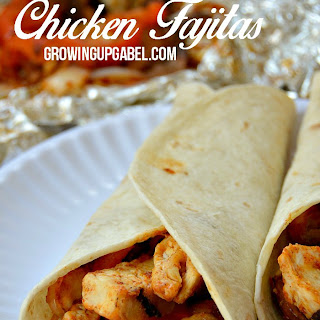 Chicken Fajita Foil Packet Recipe for Camping