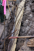 Photo: A little shoring and drainage work are required in most wet site excavations.