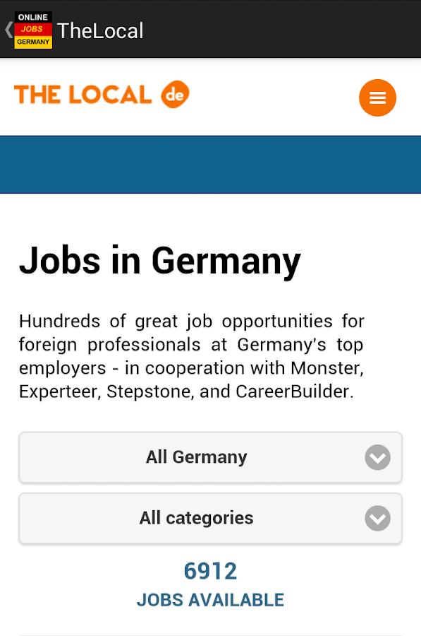 jobs in germany berlin android apps on google play