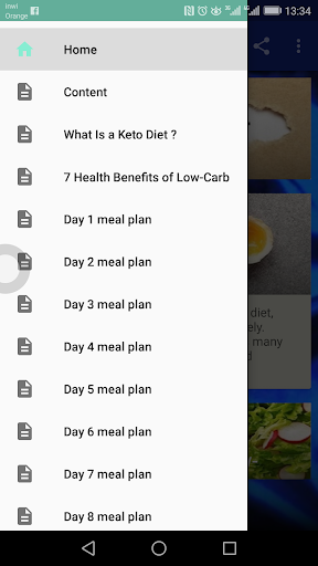 Keto Diet Meals-2 weeks Plan 1.0 screenshots 2