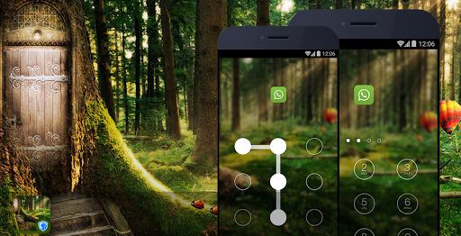 隱私衛士主題 - 綠色森林