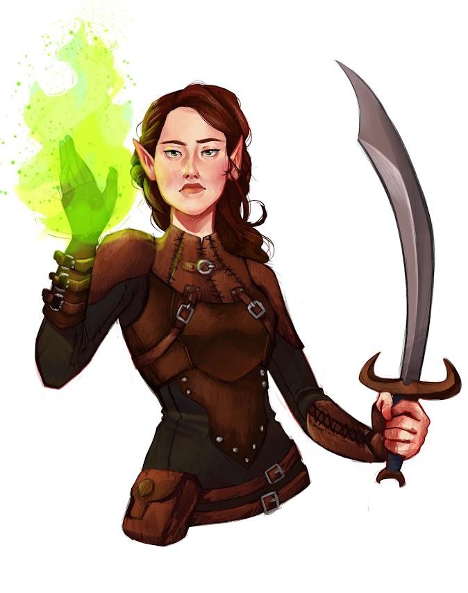 Swordmage - 5e Half-Caster based on Warlock Pact Casting | GM Binder