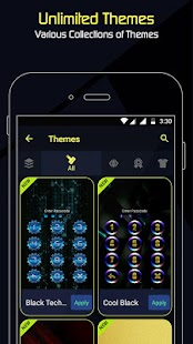 AppLock - Incredible (Fingerprint - Pattern Lock) - náhled