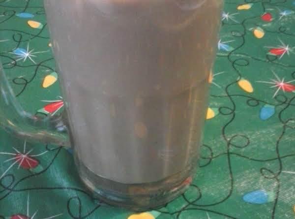 Iced Almond Mocha Latte