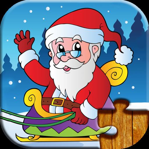 孩子們聖誕老人的聖誕拼圖 教育 App LOGO-APP試玩