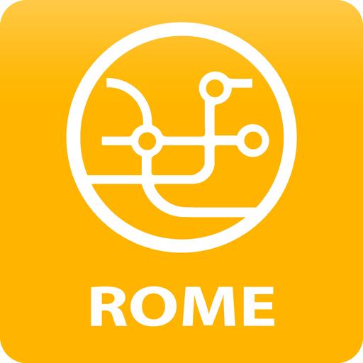 Rome Public Transport Routes 2018 icon