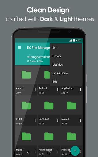 EX File Explorer File Manager 1.0 screenshots 1