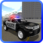 SUV Police Car Simulator Icon