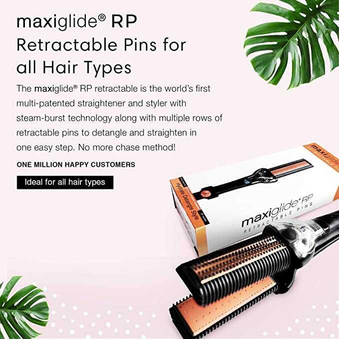 MAXIUS Maxiglide RP Hair Straightener