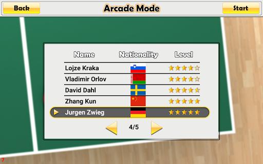 Virtual Table Tennis 2.1.14 screenshots 23