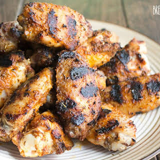 Grilled Cajun Chicken Wings.
