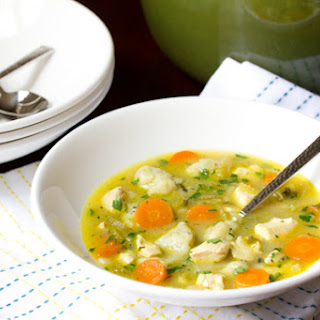 Chicken and Dumplings Soup.