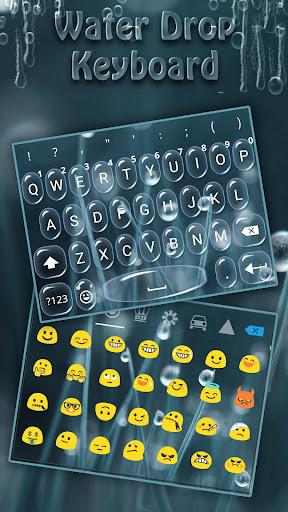 Water Drop Instakeyboard  screenshots 1