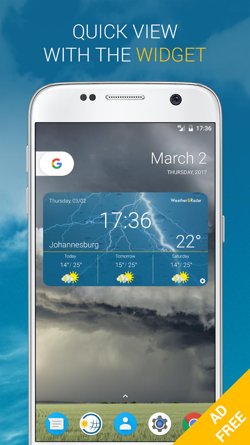 Weather & Radar Pro - Ad-Free Screenshot 4