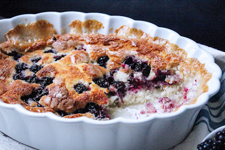 Best in Show Blackberry Cobbler Recipe
