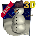 Snowfall 3D - Live Wallpaper icon