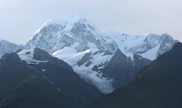 Photo: Mt. Tasman mit Fox Glacier