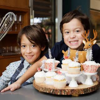 Winter Wonderland Cupcakes.