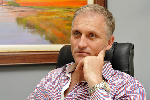 Jubilee Platinum CEO Leon Coetzer. Picture: FINANCIAL MAIL