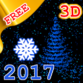 3D New Year 2017 LWP free