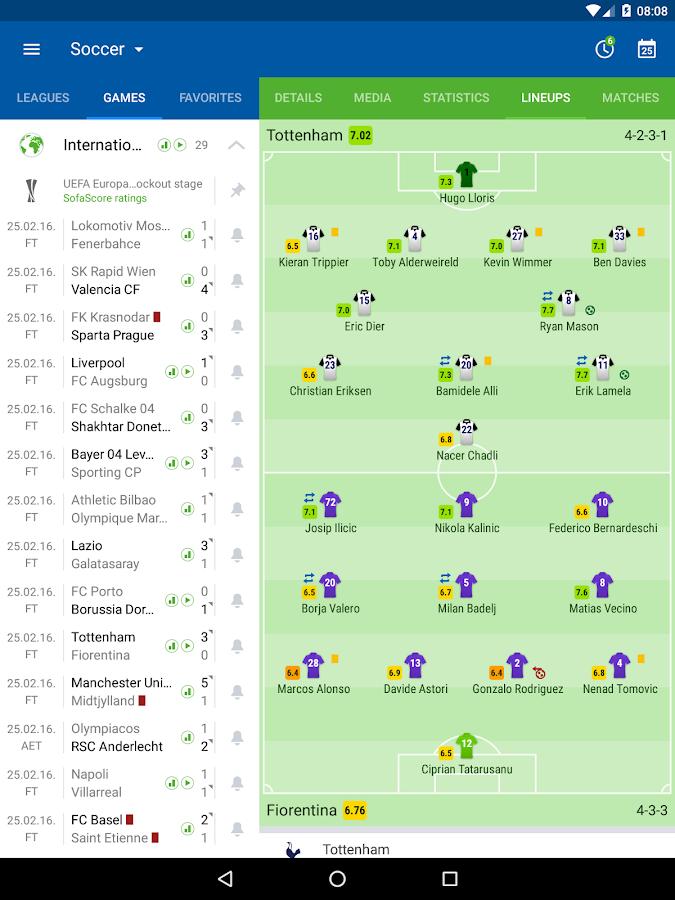 SofaScore Live Score- screenshot