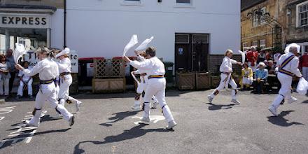 Photo: AN 'EXPRESS TRAIN' SORT OF DANCE