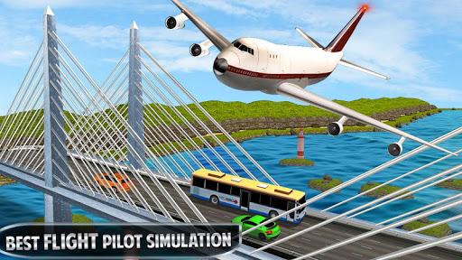 Code Triche vol d'avion simulateur de vol 3D APK MOD (Astuce) screenshots 1