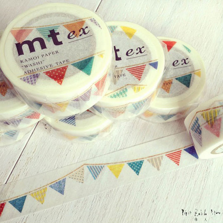 MT Flag by MT masking tape by Pipit Zakka Store