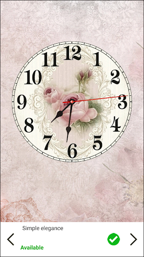 Shabby Chic Clocks Live Wallpaper screenshot