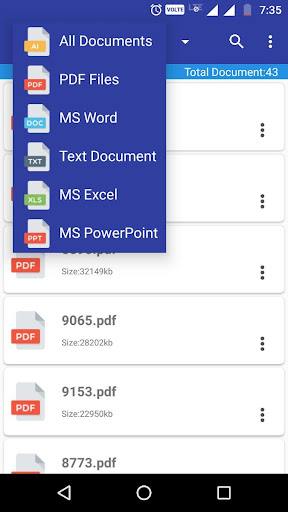 Document Manager & Viewer 1.1 screenshots 3