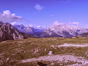 Photo: Dolomiti in full beauty (except for the weird colours)