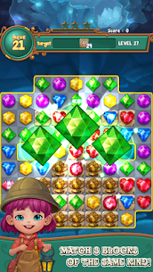 Jewels fantasy : match 3 puzzle 9