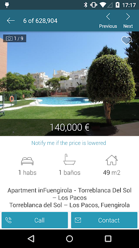Fotocasa rent and sale app (apk) free download for Android/PC/Windows screenshot