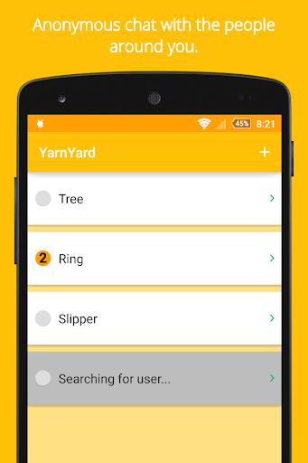 YarnYard: Local Anonymous Chat