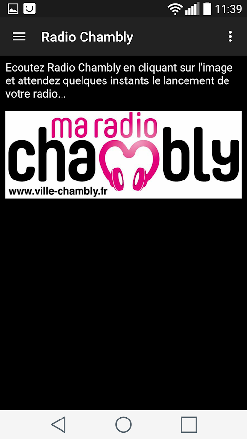 Radio Chambly- screenshot