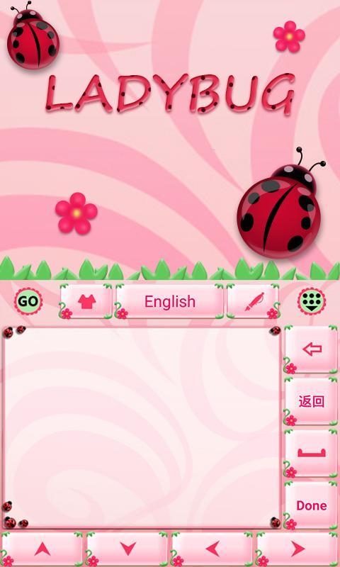 Cute-Ladybug-GO-Keyboard-Theme 11