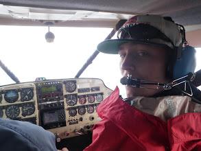 Photo: Luke's first bush flight