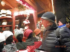 Photo: ja, die rote Mütze für Gesche....