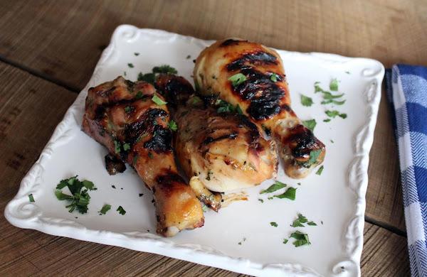 Grilled Chicken With Cilantro Marinade Recipe