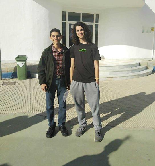 Gerson y Víctor.