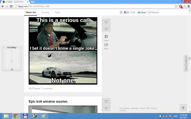9gag AutoPlay