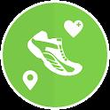 Pedometer Walk Logger Map icon