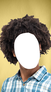 Afro Hairstyle Photo Montage - náhled