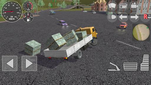 Hard Truck Driver Simulator 3D apkdebit screenshots 2