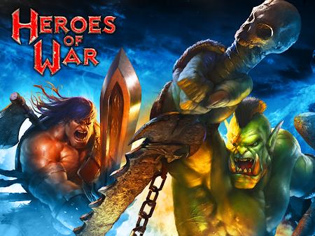 Heroes of War: Orcs vs Knights 1.2.4 screenshot 30478