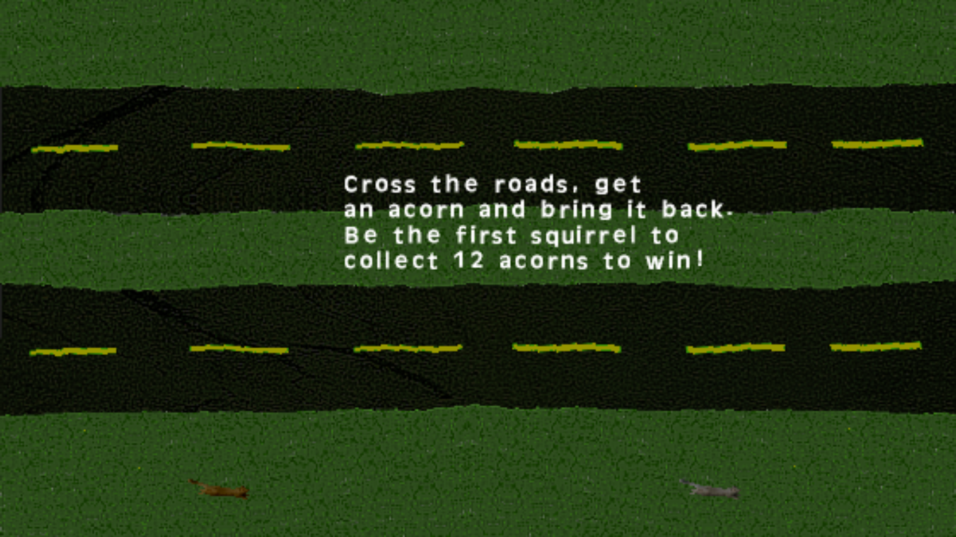 Acorn Squirrel Race- screenshot