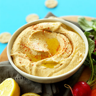 Best Ever 5 Minute Microwave Hummus