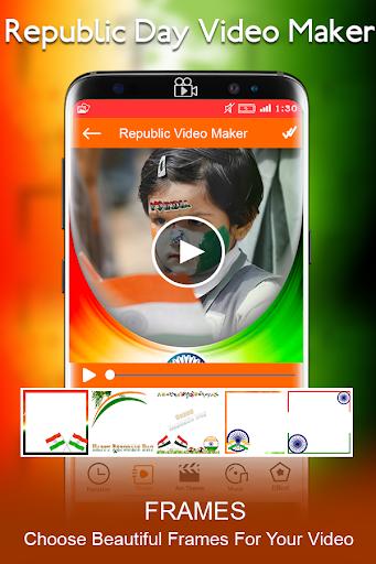 Republic Day Video Maker 2018 - 26 Jan Slideshow 7.0 screenshots 3