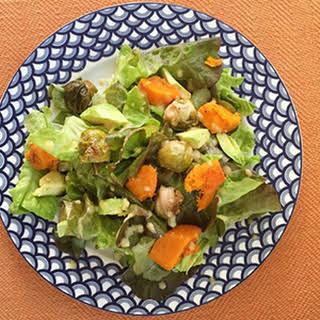Fast & Easy Leftover Veggie Salad.